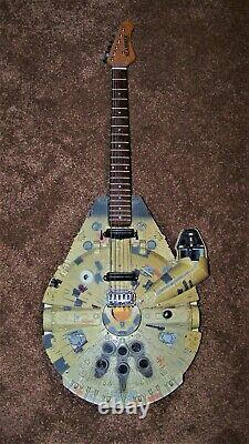 Hamer Slammer Guitar Custom Star Wars Millennium Falcon Body Estate Find Music