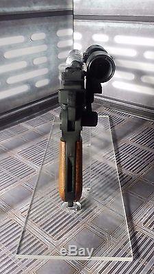 Han Solo DL-44 ROTJ custom blaster Boba Debt metal Star Wars Force Friday Sale