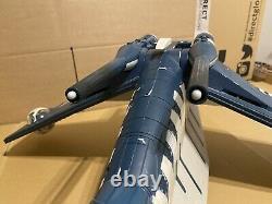 Hasbro Star Wars Clone Wars Republic Gunship Tigershark Custom 3.75 Scale