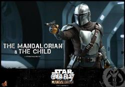 Hot Toys 1/6 TMS014 Star Wars The Mandalorian&The Child Collect Figure