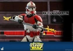 Hot Toys 1/6 TMS025 The Clone Wars Coruscant Guard Soldier Action Figure Model