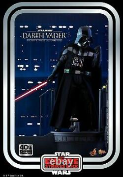 Hot Toys 1/6th MMS572 Darth Vader 40th Anniversary 12inch Action Figure Toys