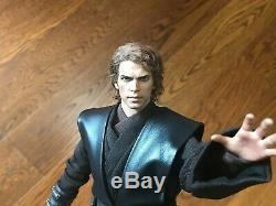 Hot Toys Custom Anakin Skywalker Star Wars MMS437 Episode 3 real hair