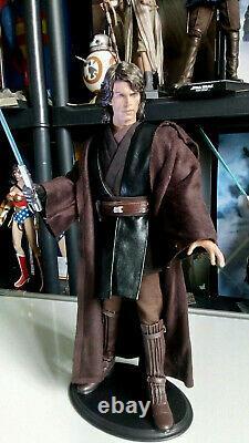 Hot Toys Sideshow Anakin Skywalker Star Wars ROTS 1/6 Figure (Custom Sculpt)