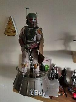 Hot Toys Star Wars Boba Fett 1/4 Scale Figure ROTJ exclusive version. Custom