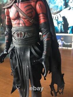 Hot Toys custom Darth Maul mythos star wars 1/6 sith + stand