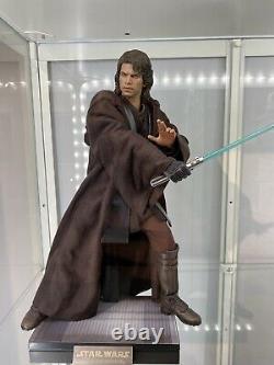 Hot toys star wars 1/6 Anakin Skywalker Light Side Plus Custom Jedi Robe