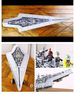 Imperial Super Star Destroyer 05028 Custom same as Legos Star Wars 10221