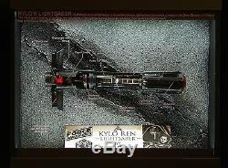 Jedi Killer Kylo Ren CUSTOM Cutaway Lightsaber No 2. STAR WARS THE FORCE AWAKENS