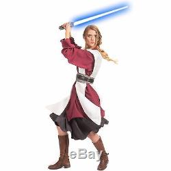 Jedi Librarian Star Wars Halloween Custom Cosplay Sith Lord Tunic Set Female gir