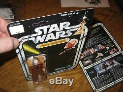 Kenner Star Wars 1978 DT Double Telescoping Saber Lot Vader Obi Wan Custom Card