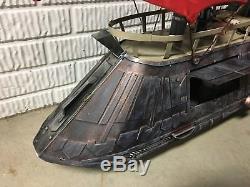 Khetana Jabba's Sail Barge CUSTOM Star Wars 3.75 Action Figure Vehicle