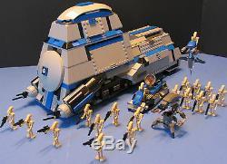 LEGO Brick STAR WARS Custom CLONE WARS 7662 MTT Gray & Blue + 20 BATTLEDROIDS