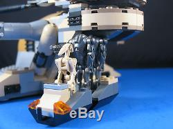 LEGO Brick STAR WARS Tan AAT CLONE WARS TANK Custom MOC 8018 + 4 Minifigures