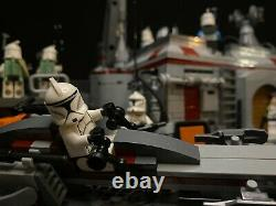 LEGO MOC Star Wars Republic Clone Base on Geonosis (Exclusive Custom Set)
