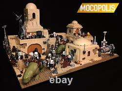 LEGO MOC Star Wars Tatooine Mos Eisley Cantina (Exclusive Custom Set)