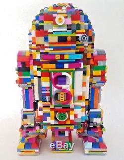 LEGO R2-D2 UCS Star Wars Psychedelic Custom 10225
