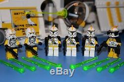 LEGO STAR WARS 75021 PHASE I 327th Star Corps YELLOW REPUBLIC GUNSHIP CUSTOM