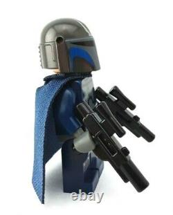 LEGO STAR WARS Custom Mandalorian Soldier figure Helmet from 9525