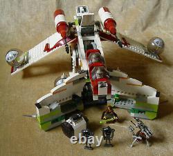 LEGO Sets Star Wars Episode 2 7163-1 Republic Gunship (2002) 100% SLIGHT CUSTOM