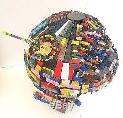 LEGO Star Wars 10143 UCS Custom Psychedelic Death Star II