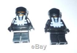 LEGO Star Wars BLACK SHADOW GUNSHIP Custom 7163 + 8 Minifigs Darth Vader Trooper