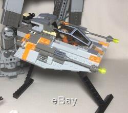LEGO Star Wars Classic AT-AT 4483 Snow Speeder Wampa Hoth Lot Custom Rebel Base