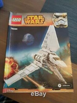 LEGO Star Wars Imperial Shuttle Tydirium 75094 WITH CUSTOM DISPLAY STAND