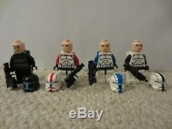 LEGO Star Wars Omega Squad Clone Commando Custom Minifigure Lot 75002 9488 Niner