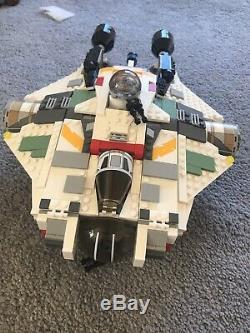 LEGO Star Wars The Ghost 75053 + The Phantom 75048 With Custom Full Ghost Crew