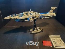 LEGO Star Wars The Malevolence Custom Build READ DESCRIPTION 100% LEGO Pieces