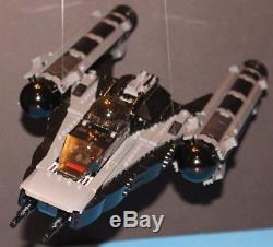 LEGO brick STAR WARS 8037 Republic STEALTH Y-WING FIGHTER CUSTOM MOC 100% LEGO