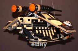 LEGO brick STAR WARS Custom 7676 IMPERIAL SCARIF GUNSHIP + 7 Minifigures Incl