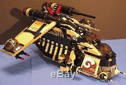 LEGO brick STAR WARS Custom 7676 TAN & BLACK TATOOINE DESERT REPUBLIC GUNSHIP