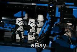 LEGO brick STAR WARS MOC 7676 REBELS IMPERIAL GUNSHIP + 7 Fig Crew 100% LEGO