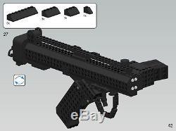 Lego Custom Star Wars Imperial Storm Trooper Clone Army E-11 blaster rifle