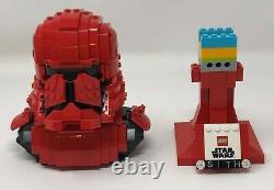 Lego Sith Trooper Bust (77901) Including Custom Display Stand