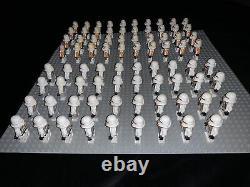 Lego Star Wars 39x 212th Airborne + 40x Phase 2 Clone Trooper custom lot
