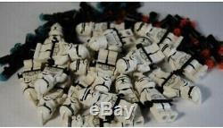Lego Star Wars 4482 7163 Clone Trooper 10x Minifigure Lot Ep 2 Custom Blaster