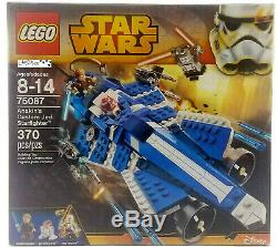 Lego Star Wars Anakin's Custom Jedi Starfighter 75087 370 pieces 2015