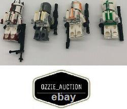 Lego Star Wars Clone Army Customs CAC Mandalorian Delta Commando 9525 7914