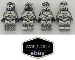 Lego Star Wars Clone Army Customs CAC Wolfpack troopers Lot of 4 7964
