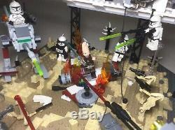 Lego Star Wars Clone Wars 75021 Republic Gunship Custom Lot 7748 8014 75206