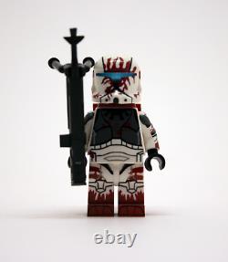Lego Star Wars Custom Clone Commando Squad Delta Squad