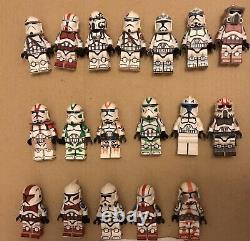 Lego Star Wars Custom Clone Trooper Lot