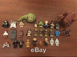Lego Star Wars Jabba's Palace Rancor Pit Droid Factory Custom HUGE 9516 75005