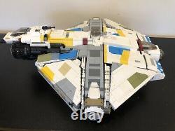 Lego Star Wars Rebels UCS Ghost & Phantom I Custom MOC Inc Minifigures