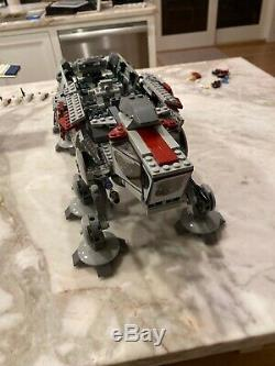Lego star wars republic dropship And AT-OT With Custom And Extra Minifigures