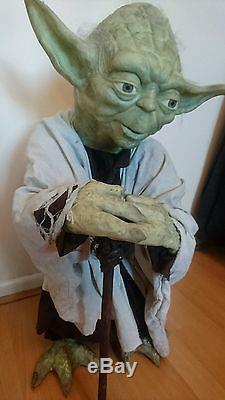 Life Size Yoda (Star Wars) Custom Handmade