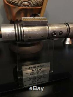 Lightsaber Saberforge Custom ASP NBv3 The Valor Lightsaber Star Wars